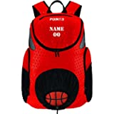 Point 3 Road Trip 2.0 Basketball Backpack with Ball & Shoe Storage (Custom, Red)