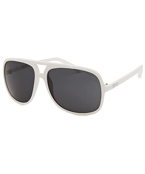 Mens Aviator White Sunglasses