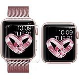 【6枚セット】BRG コンパチブル apple watch フィルム,アップルウォッチHD画面保護 高清TPUスクリーン 保護シート アップルウォッチフィルム apple watch series 3,apple watch series 2,apple watch series 1対応 (38mm,クリア)