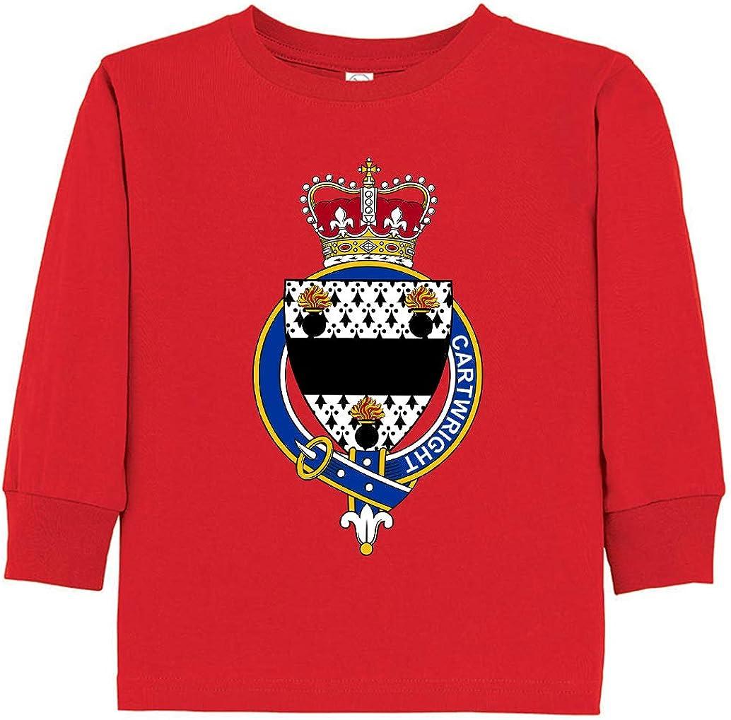 Tenacitee Toddlers English Garter Family Cartwright Long Sleeve T-Shirt