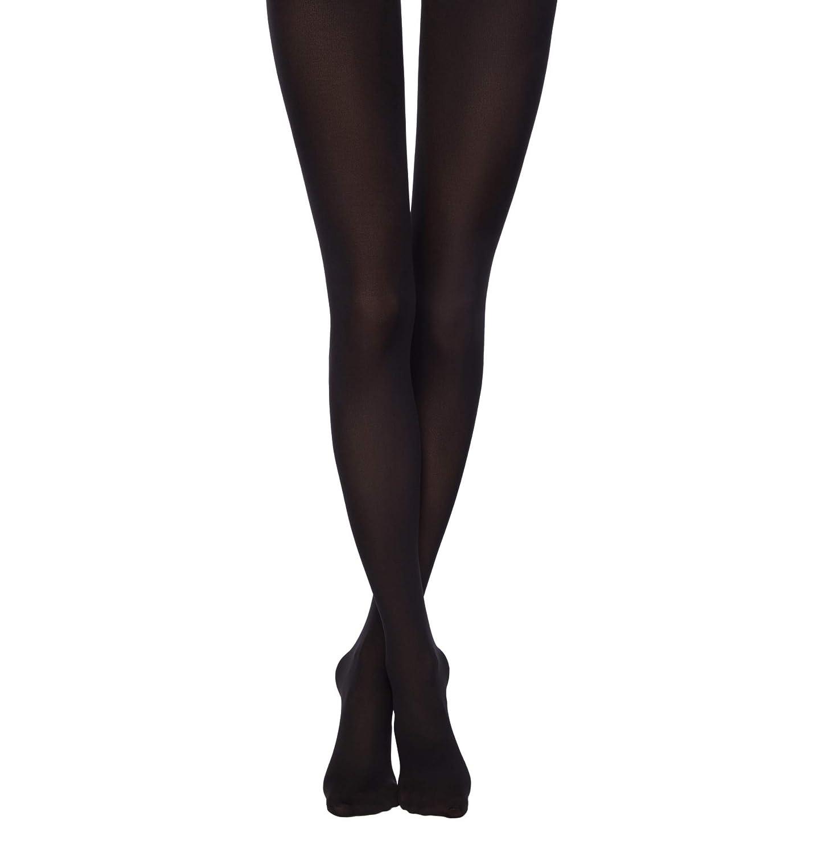 96ada41b33414 CONTE ELEGANT Tights, Cotton, 150 denier, Color: Nero, Size: 4 (1190040033)  at Amazon Women's Clothing store: