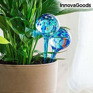 InnovaGoods IG116257 Globos de Riego (Pack de 2): Amazon.es: Bricolaje y herramientas