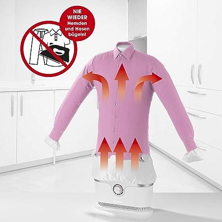 CLEANmaxx planchadora automática de Camisas se Seca y Plancha automáticamente | Máquina de Planchar Camisas y Blusas Totalmente automática: Amazon.es: Hogar