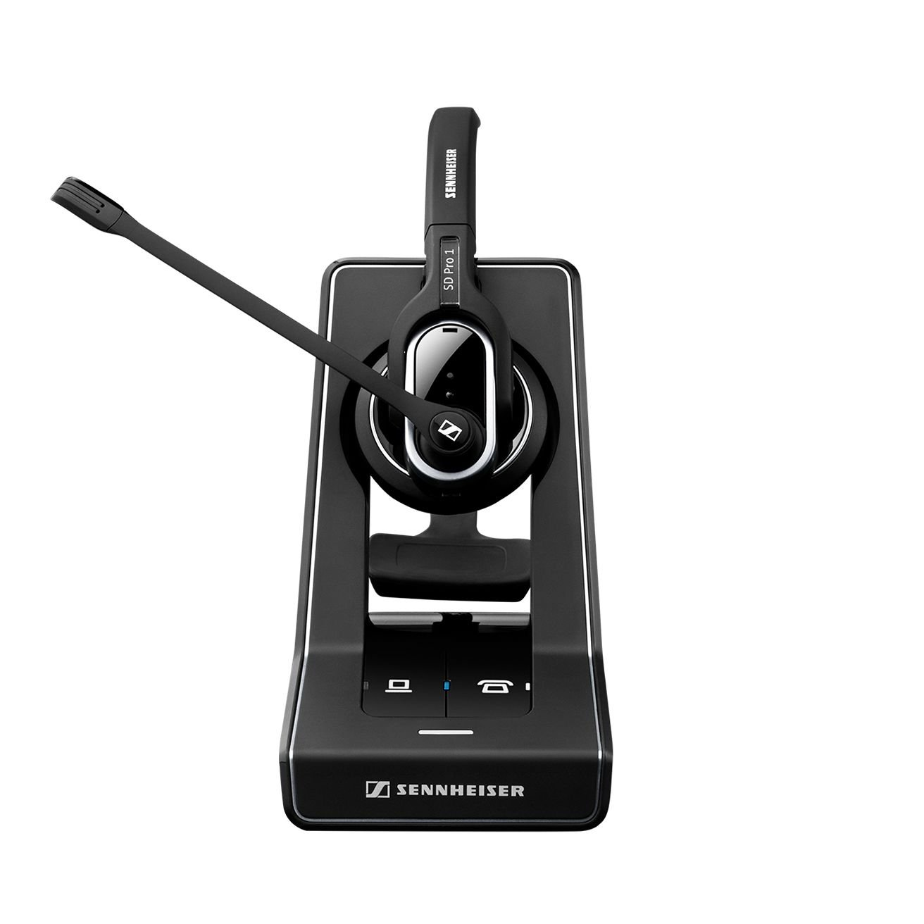 Sennheiser SD PRO2 - Stereo (Duo) Deskphone Cordless Headset with Cisco EHS Adapter | Compatible Cisco Models: 8900 and 9900 Series | Bonus Cushions Included by Sennheiser (Image #2)