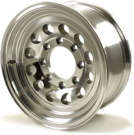 "16/"" x 6.5/"" 8 LUG ALUMINUM TRAILER WHEEL 8-LUG ON 6.5 INCHES"