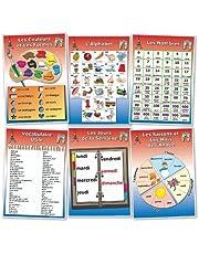 Wildgoose Education FR0024 fransk ordförrådsaffisch, set 1 (paket med 6)