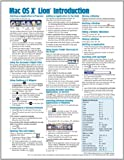 Mac OS X Lion Introduction Quick Reference Guide (Cheat Sheet of Instructions, Tips & Shortcuts - Laminated Card)
