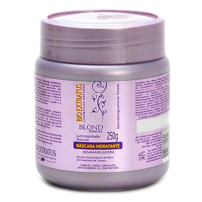 Linha Blond Bio Extratus - Mascara Hidratacao Nutritiva 500 Gr - (Bio Extratus Blond Collection - Nourishing Hydration Masque 17.6 Net Oz.)