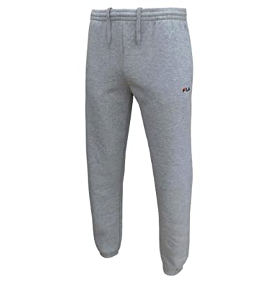 0bcc1456 Fila Sunit Men's Fleece Joggers Tracksuit Jogging Bottoms mid Grey Marl  Medium