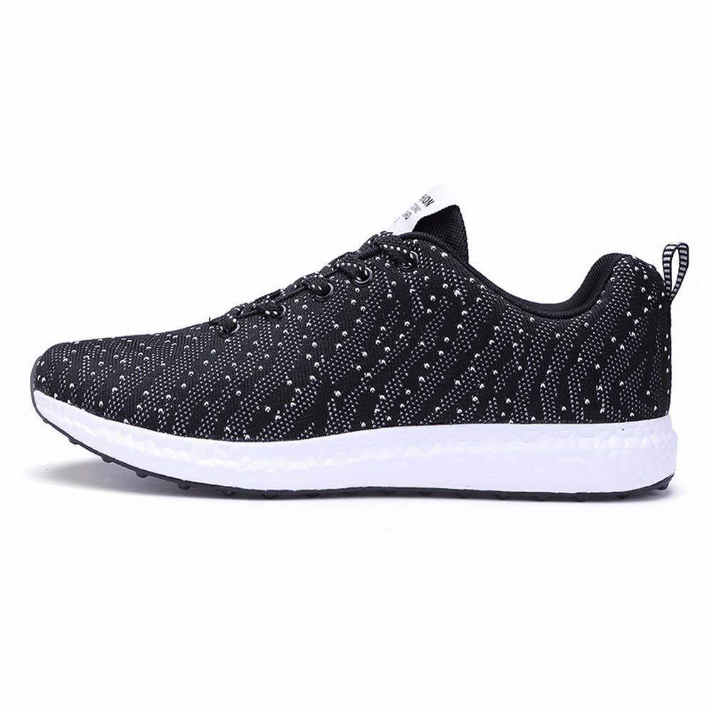 HhGold Männer Schuhe Schuhe Schuhe Fliegen Linie Atmungsaktive Schuhe Männer Casual Mesh Flut Schuhe Laufschuhe (Farbe   schwarz -Weiß Größe   EU 40) 66aec7