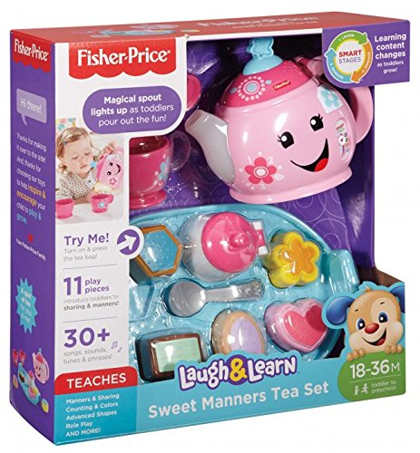 Fisher-Price Laugh & Learn Sweet Manners Tea Set (Sweet Teapot)
