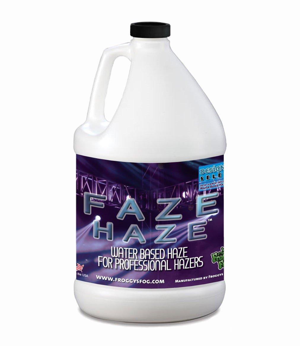 Faze Haze - Professional Water Based Haze Juice - for use in Antari Fazers, Chauvet Hazers, Base Hazer Pro and Martin Compact Hazers - 1 Gallon