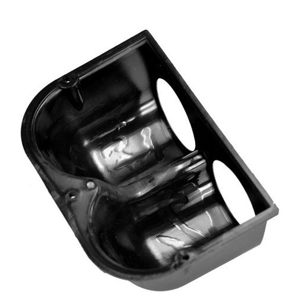 BODYART Universal Car 2 52mm Dual Hole Dash Gauge Meter Pod Mount Holder Black