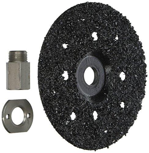 mk diamond 167755 16 grit sawtec abrasive grinding discs, 3 pack with 5/8-11u0022 adapter, 7u0022