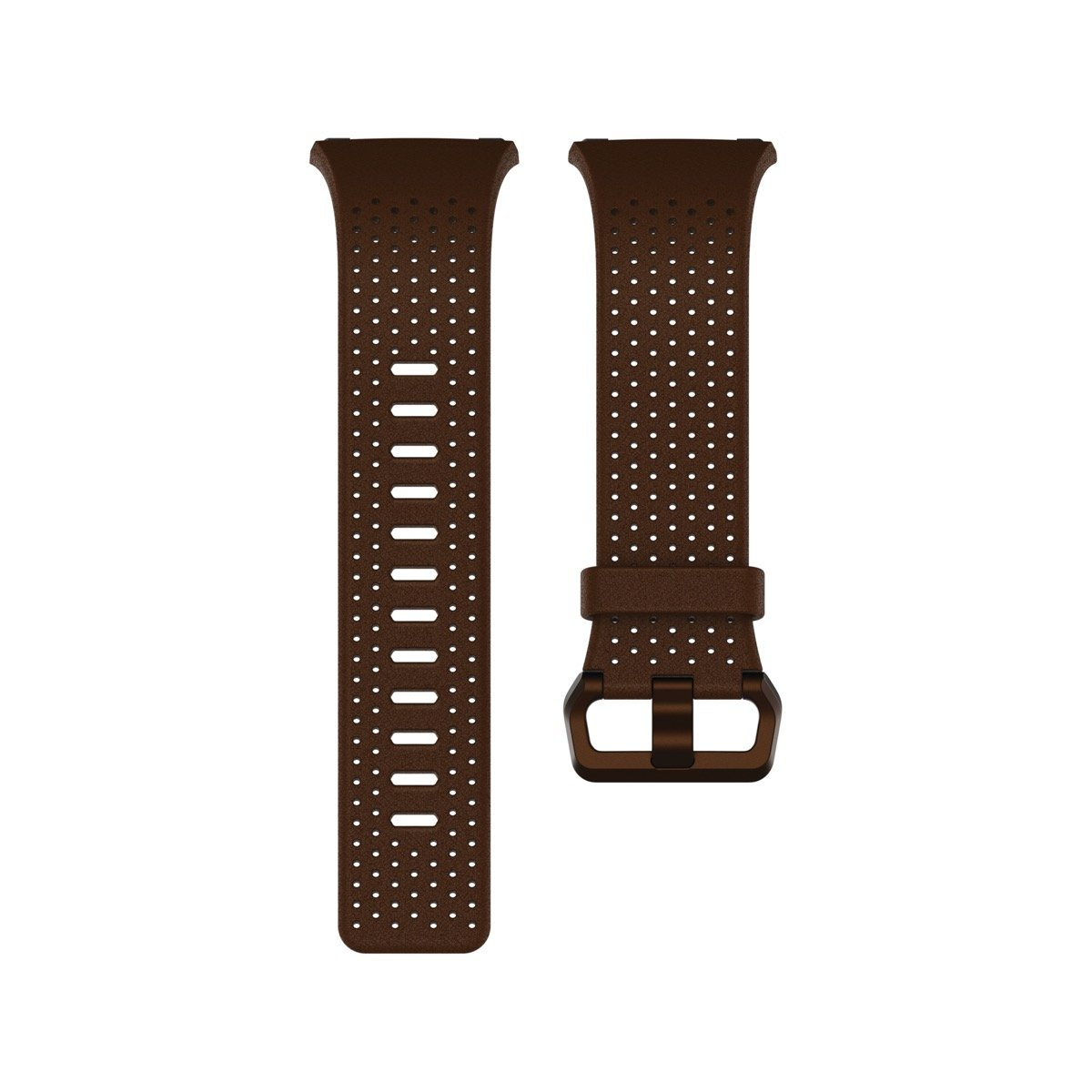 Fitbit Ionic Perforated Leather Accessory Band, Cognac, Large