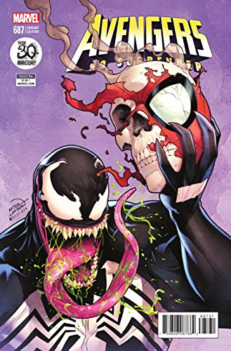 Avengers (2016) #687 VF/NM Venom 30th Anniversary Variant Cover