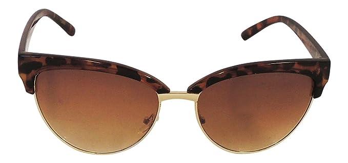 Lunettes de soleil rétro années 50vintage Flip Up Glasses Femme Homme rf197 Marron Y4Jzu