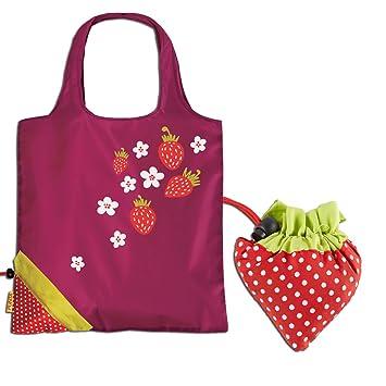 suche nach neuesten Fabrik Neuankömmling Fabrizio 10282-4500 Faltbare Einkaufstasche Punta Erdbeere Strawberry  Einkaufsbeutel Falt Tasche