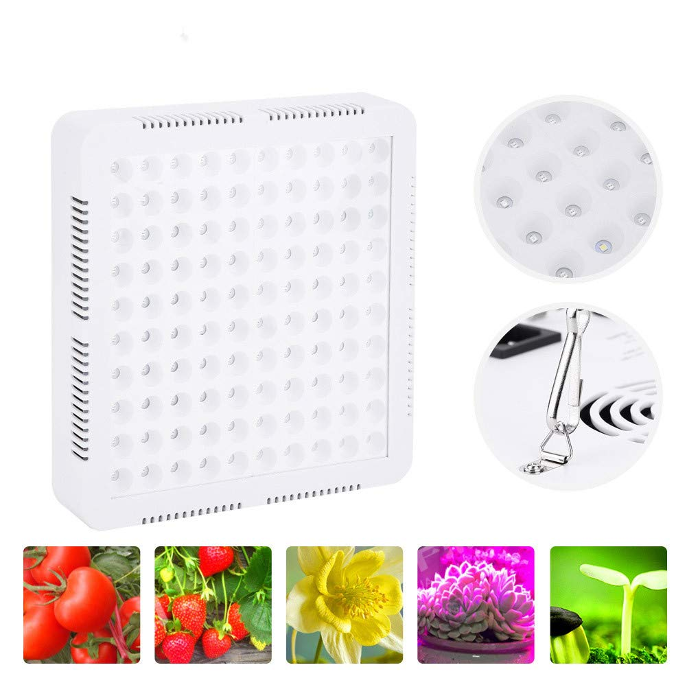 Floraison Germination 600W 600W Lampe Horticole Croissance 60pcs LED Eclairage Semis Serre pour Plantes