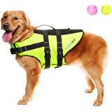 SCENEREAL Dog Life Jacket Outoor Safety Vest Bright Color