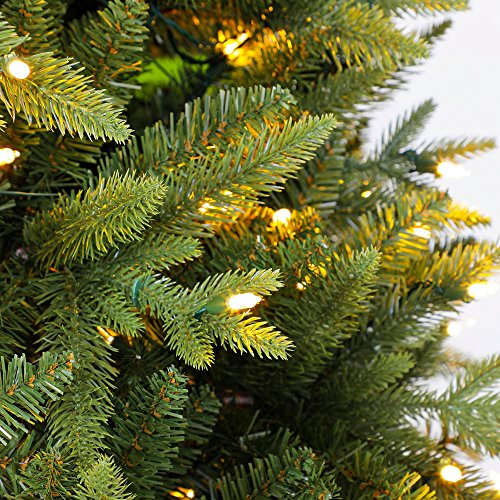 Home Heritage Alaska 6' - 7.5' Grow & Stow Dual Colored Light Christmas Tree by Home Heritage (Image #5)
