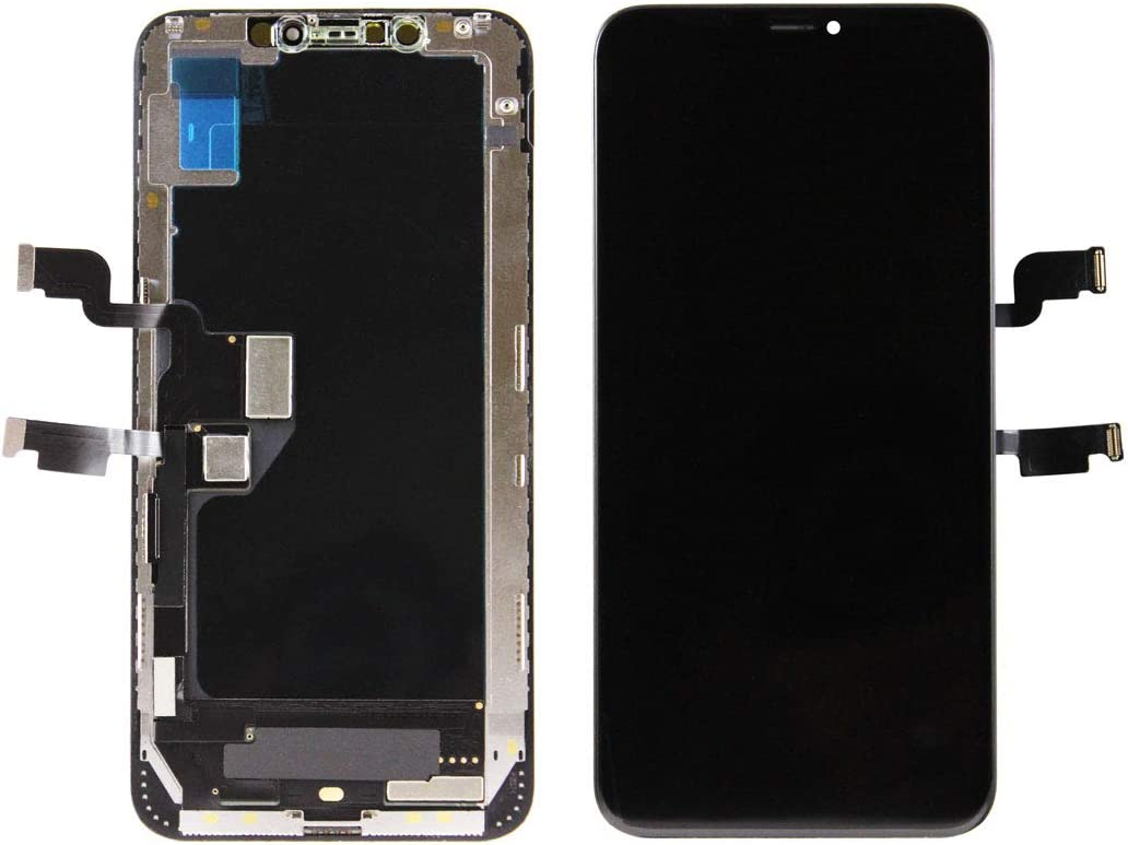 Touch Screen Display Digitizer Repair Kit Assembly with Complete Repair Tools XS Max Model A1921, A2101, A2102, A2103, A2104 Hard OLED Screen Replacement for iPhone Xs Max 6.5 inch