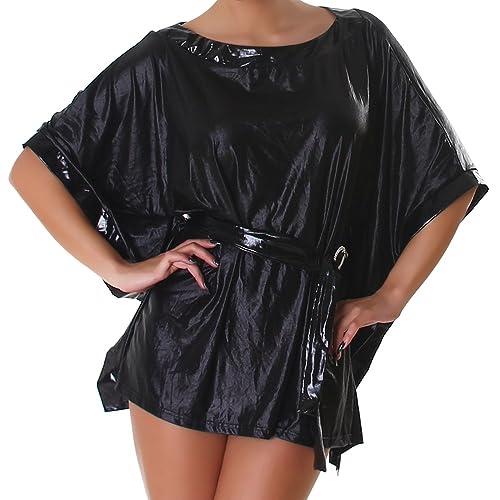 Unbekannt - Camisas - Túnica - Cuello redondo - Manga corta - para mujer