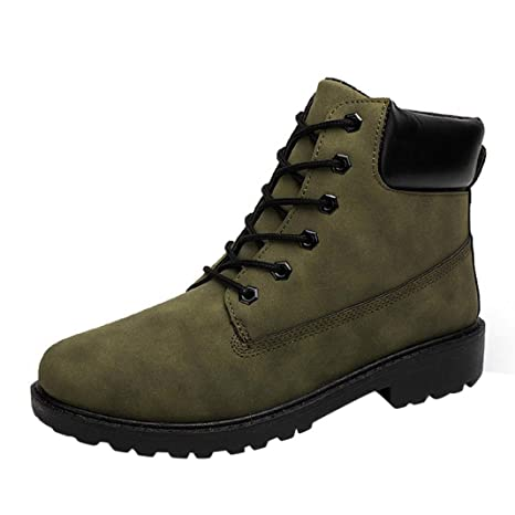 7b420d8d5a2a29 Stiefeletten Herren Btruely Männer Martens Stiefel Freizeitschuhe Hoch oben  Schuhe Junge Wanderstiefel Schuhe Sneakers Winter  Amazon.de  Bekleidung