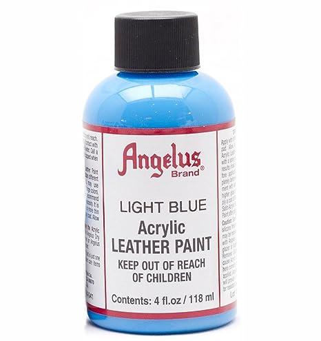 Amazon.com: Pinturas para cuero de Angelus, Azul claro, 4 ...