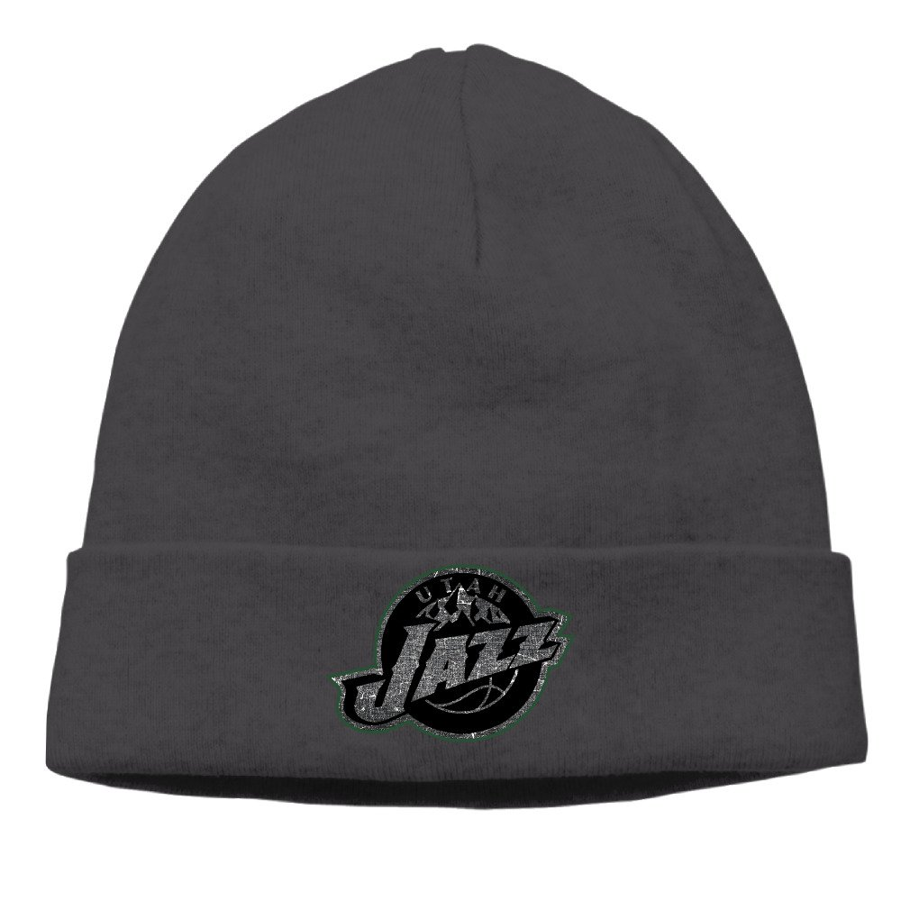 e3ffc8645b2 Amazon.com  Utah Jazz Cool Black Up And Over Logo Cool Skull Cap Beanie Hat  (6310414325359)  Books
