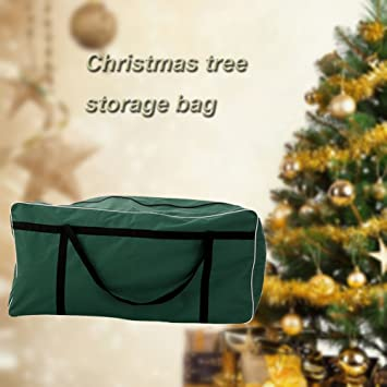 Large Christmas Tree Storage Bag Waterproof Outdoor Cushion Storage Bag,  Dimensions 35 X 14 X