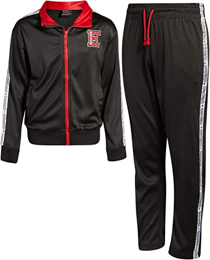 Enyce Boys 2-Piece Performance Tracksuit Set with Zip-Up Jacket and Jog Pants