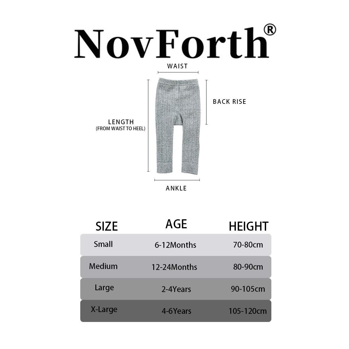 NovForth Toddler Tights Knit Legging Pants Baby Girl Footless Stockings