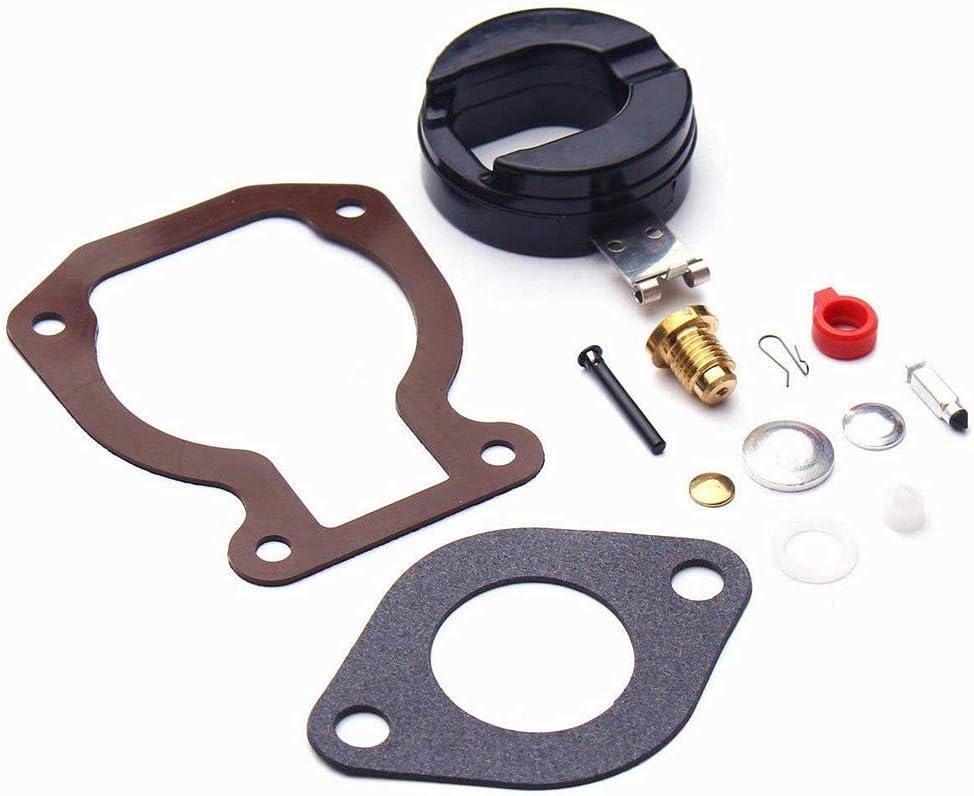 CQYD New Carburetor Repair/Rebuild Carb Kit with Float 4-15 hp for Johnson Evinrude 398453