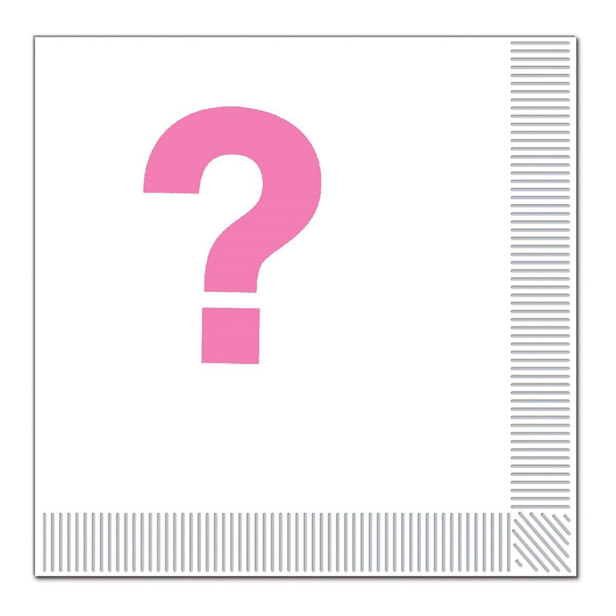 クラブパック192ピンクとホワイトのチーム2層ピンク使い捨てパーティーLuncheon Napkins B015E9TJIU