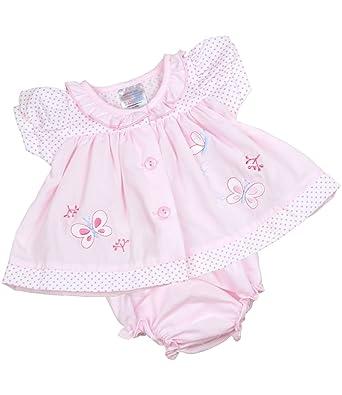 ab108798a Amazon.com  BabyPrem Preemie Baby Dress   Knickers Set Butterfly ...