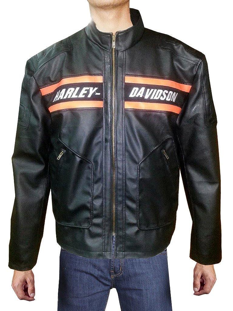 c43774d238b HD-Black Gen1 Leather Bill goldberg Biker Black Real Leather Men's Men's  Men's Jacket fe51aa