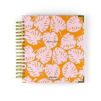 Amazon.com : Sweet Caroline Designs Orange Pink Floral Palm ...