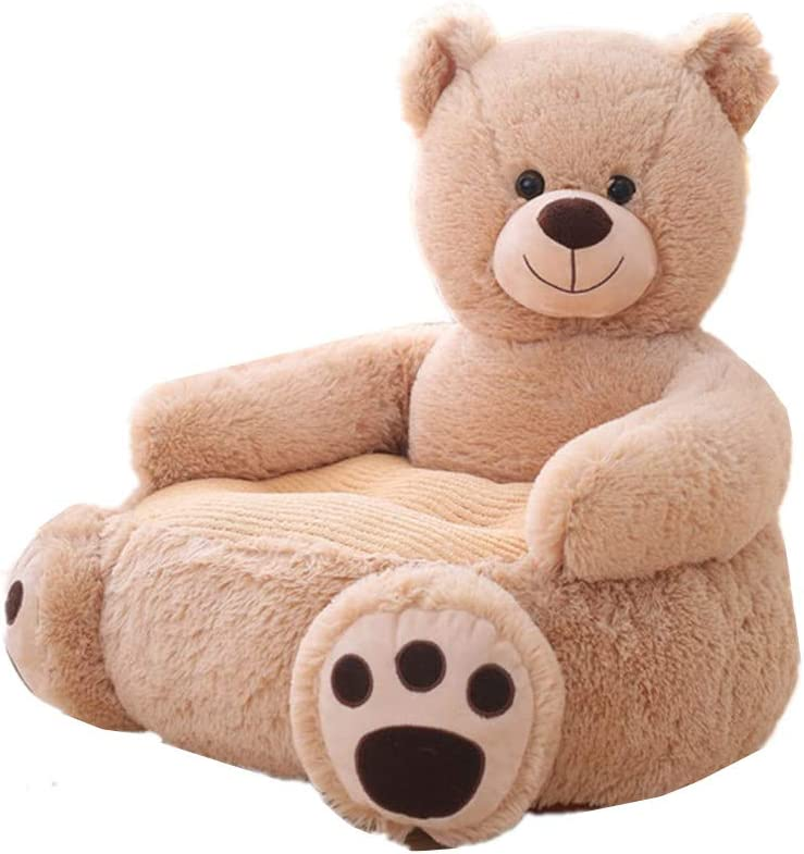 Sofá Silla Asiento de juguete Baby Nest Cojín de cama para dormir Muñeca de peluche de oso de peluche 50 * 50 * 45 cm