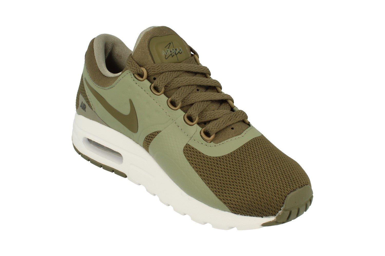 Nike  Air Running Max Zero Essential GS Running Air Shoe B005LMZLR4 US 4Y|Medium Olive 200 12c8a7