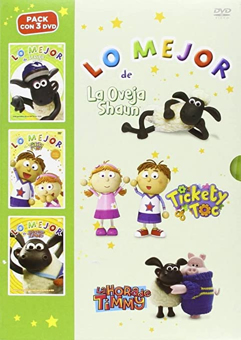 Pack Lo Mejor De Timmy + Lo Mejor De La Oveja Shaun + Lo Mejor De Tickety Toc DVD: Amazon.es: Animación, Christopher Sadler: Cine y Series TV