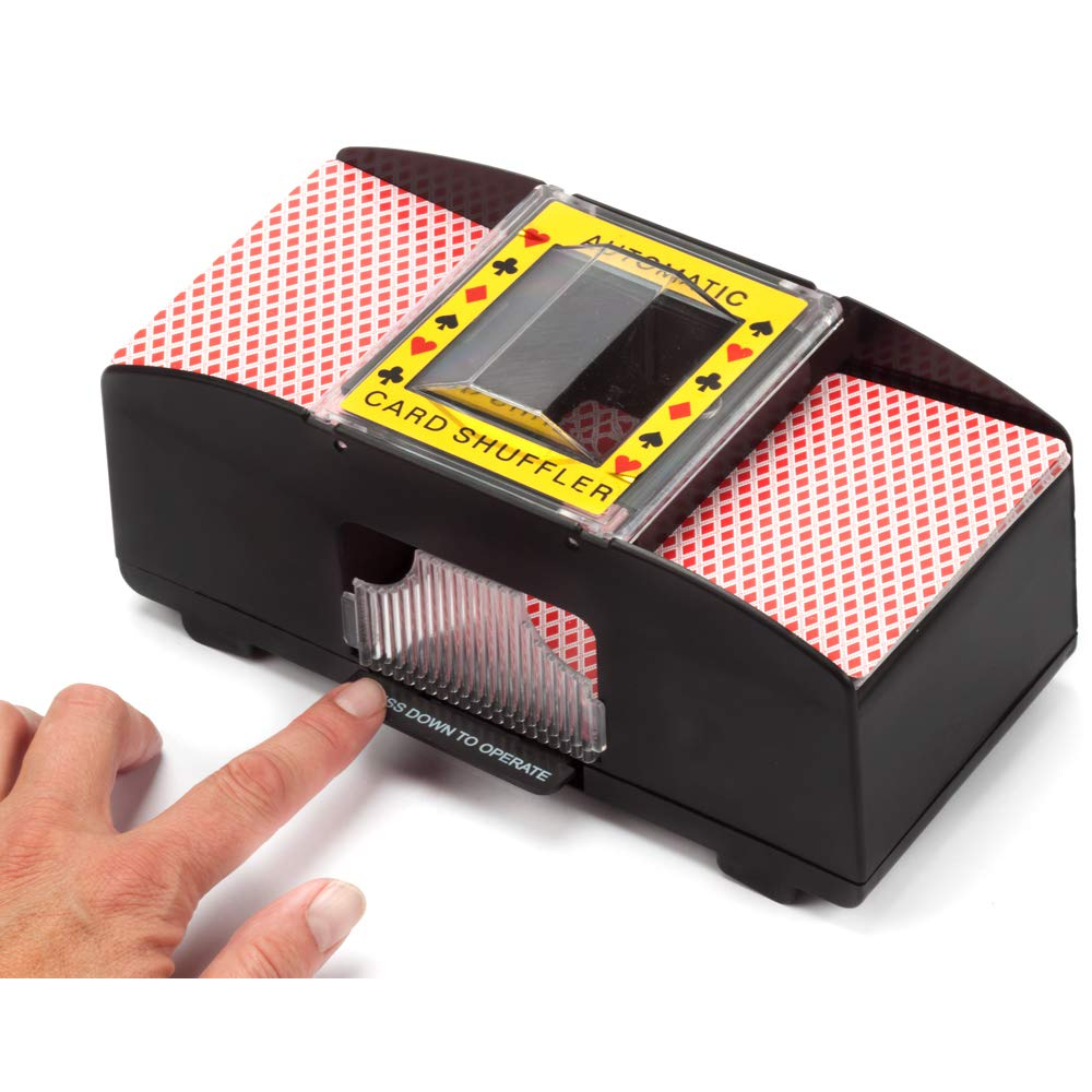 Casino Automatic Card Shuffler for Poker Games(2 Deck, 4 Deck, 6 Deck)