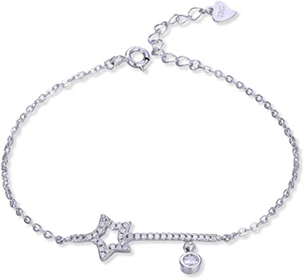 bracelet argent etoiles