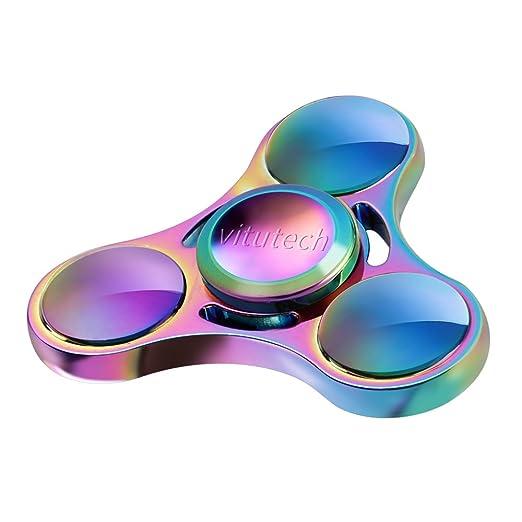 Hand Spinner, Vitutech Fidget Hand Spinner Tri-Spinner