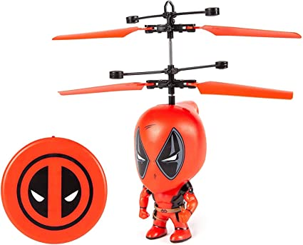 Marvel X-Men Deadpool IR UFO Ball Helicopter