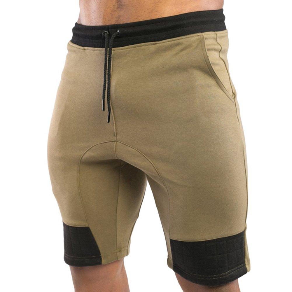 EU Men's Gym Workout Shorts Running Short Pants Bodybuilding Jogger with Pockets EU-Texus? GEN-37501