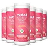 Method All-purpose Cleaning Wipes - 30 Wipes, Pink Grapefruit, 6 Count