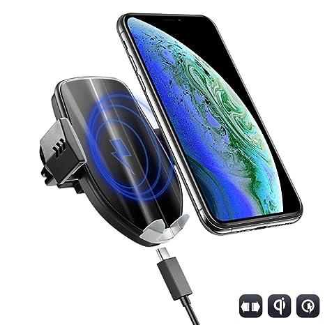 Baseus Qi Drahtlose Auto Ladegerät Für Iphone Xs Max X 10 W Schnelle Auto Drahtlose Lade Halter Für Xiao Mi Mi 9 Mi X 3 2 S Samsung S10 S9 Handys & Telekommunikation Handy-zubehör