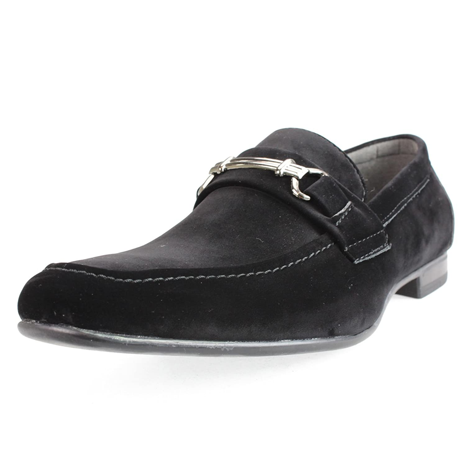 An By Lucius Mens Casual Shoes Driving Bit D Island Slip On Mocasine Loafers Black Original Boat Shoe Opera Moccasin Training Flat Low