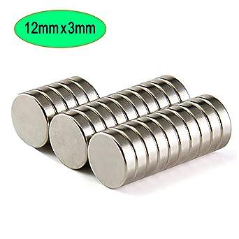 50//100pcs N52 Circular Disc Neodymium Rod Magnets Fridge Small Craftings
